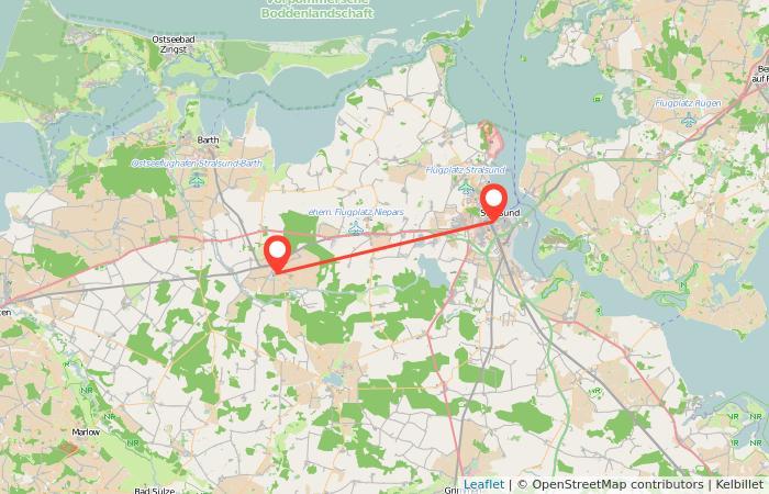 Stralsund Karte.Bahn Stralsund Velgast Gopili De
