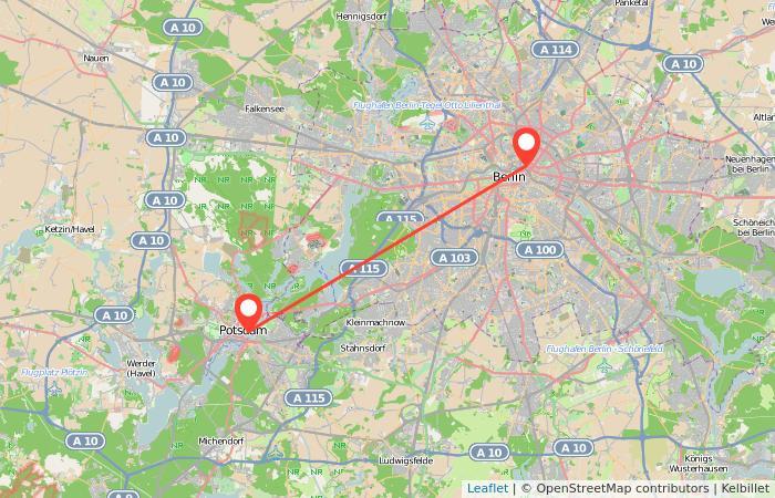 Berlin Potsdam Karte.Bahn Potsdam Berlin Ab 12 Gopili De