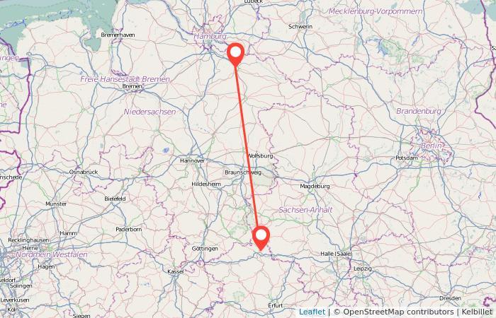 Nordhausen Karte.Bus Nordhausen Lüneburg Gopili De