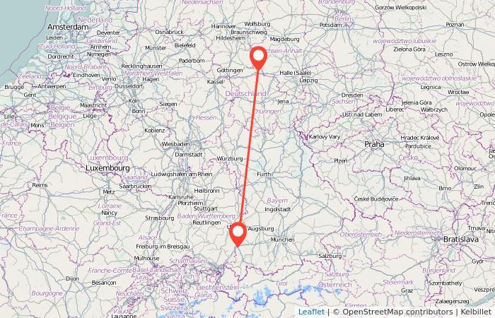 Nordhausen Karte.Bus Memmingen Nordhausen Gopili De