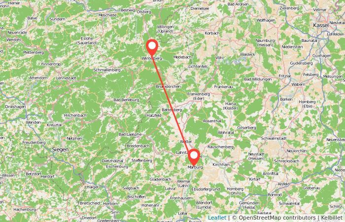 Bus Marburg Winterberg Ab 5 Gopilide