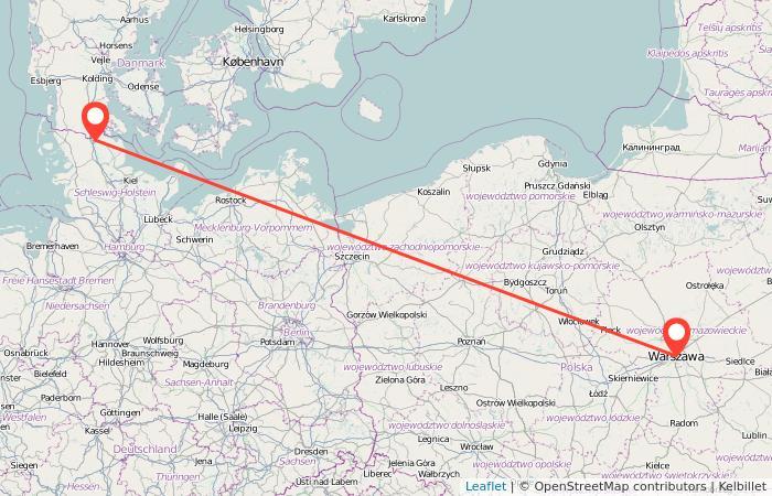 Flensburg Karte.Bahn Flensburg Warschau Gopili De