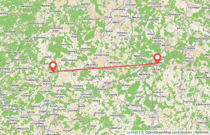 Bus Bad Hersfeld Marburg Gopilide