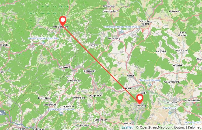Bus Bad Berleburg Marburg Gopilide