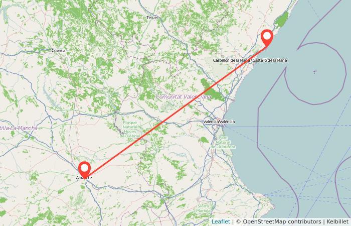 Tren Orpesaoropesa Del Mar Albacete Gopilies