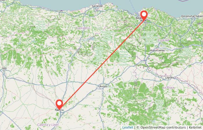 Autobús de Bilbao a Palencia: información general del viaje