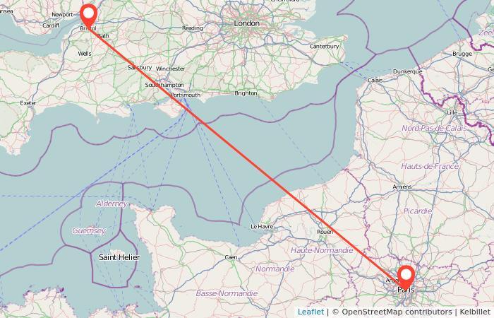 Bus From Paris To Bristol Gopilicouk - Bus map paris france