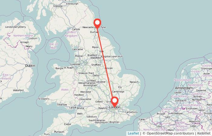London to Sunderland train from £21 | Gopili.co.uk