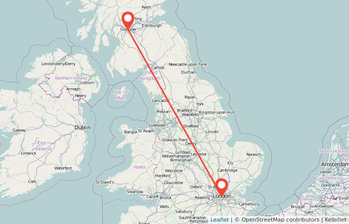 London to Glasgow train from £24   Gopili co uk