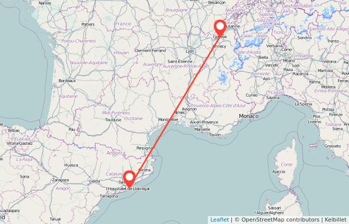 Bus from Geneva to Barcelona from £29 | Gopili.co.uk