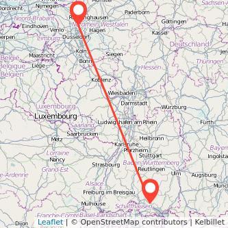 Oberhausen Köln Entfernung