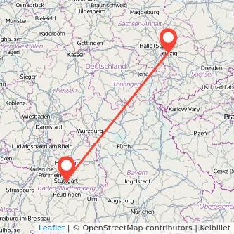 Stuttgart Leipzig Bahn Karte