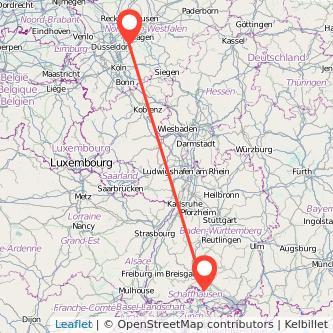 Singen Wuppertal Bus Karte
