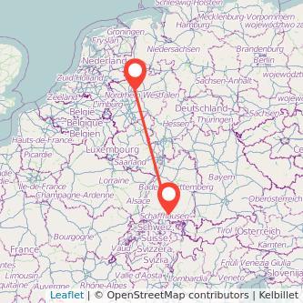 Singen Recklinghausen Bus Karte
