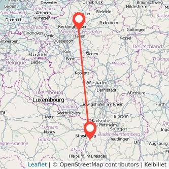 Offenburg Dortmund Bus Karte