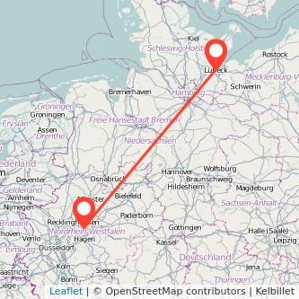 Lübeck Dortmund Bahn Karte