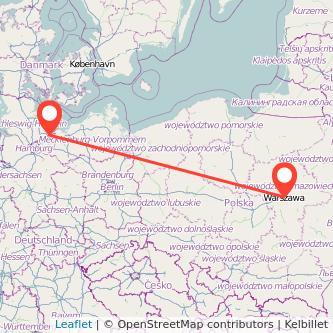 Lübeck Warschau Bahn Karte