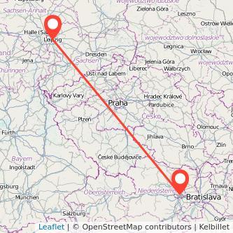 Leipzig Wien Mitfahrgelegenheit Karte