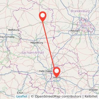 Leipzig Stendal Mitfahrgelegenheit Karte