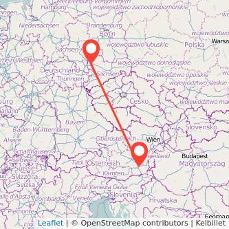 Leipzig Graz Mitfahrgelegenheit Karte