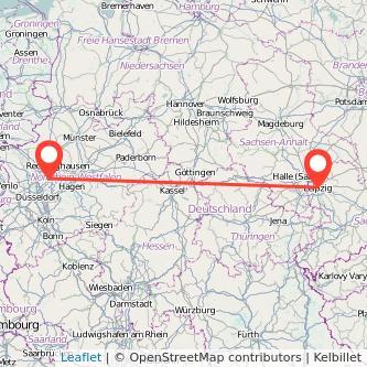 Leipzig Essen Mitfahrgelegenheit Karte