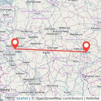 Leipzig Bochum Mitfahrgelegenheit Karte