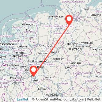 Köln Scheeßel Mitfahrgelegenheit Karte