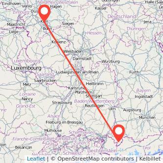 Köln Oberstdorf Bahn Karte