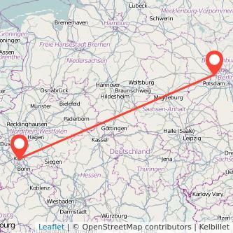 Köln Falkensee Mitfahrgelegenheit Karte