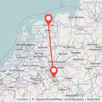 Köln Groningen Mitfahrgelegenheit Karte