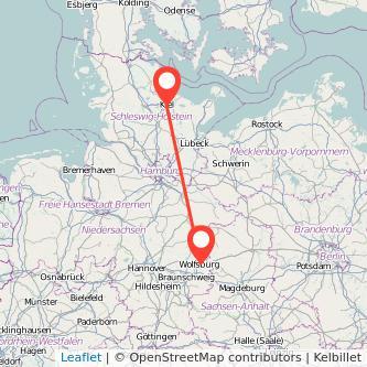 Kiel Wolfsburg Bahn Karte