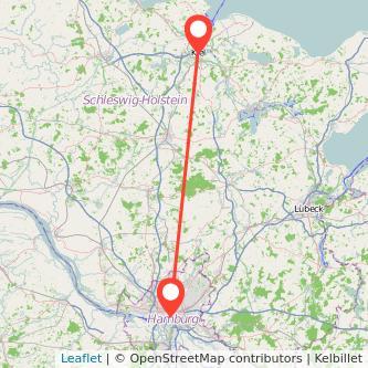Kiel Hamburg Bahn Karte