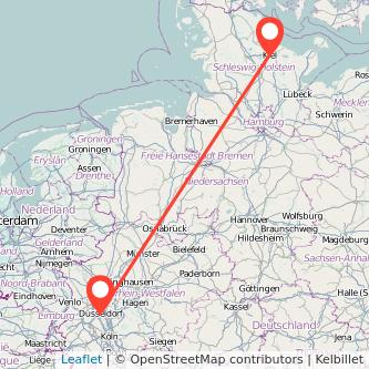 Kiel Düsseldorf Bahn Karte