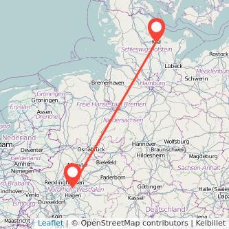 Kiel Dortmund Bahn Karte