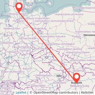 Kiel Budapest Bahn Karte