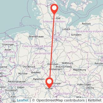 Kassel Stuttgart Entfernung