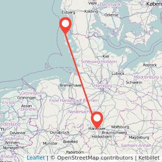 Frankfurt Hannover Entfernung