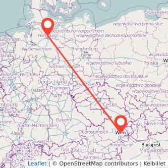 Hamburg Wien Bahn Karte