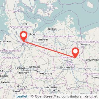 Hamburg Eberswalde Mitfahrgelegenheit Karte