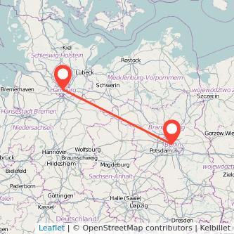 Hamburg Berlin Mitfahrgelegenheit Karte