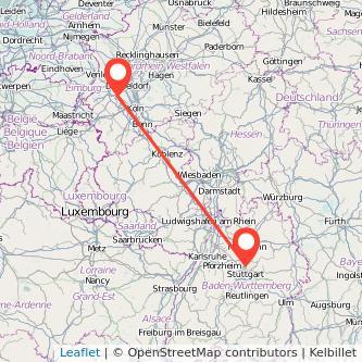 Grevenbroich Ludwigsburg Bus Karte