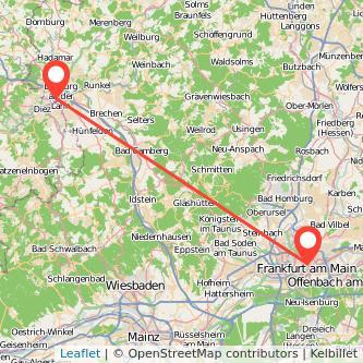 Франкфурт-на-Майне Лимбург-ан-дер-Лан