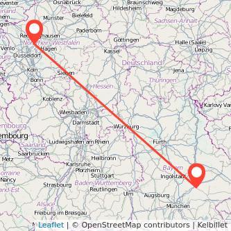 Essen Landshut Bus Karte