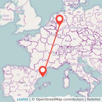 Essen Barcelona Bahn Karte