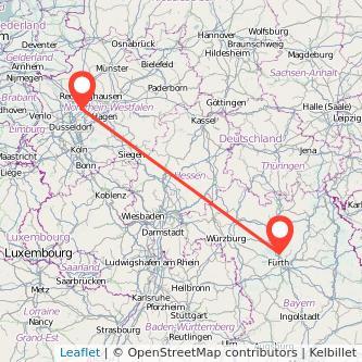 Erlangen Essen Bahn Karte
