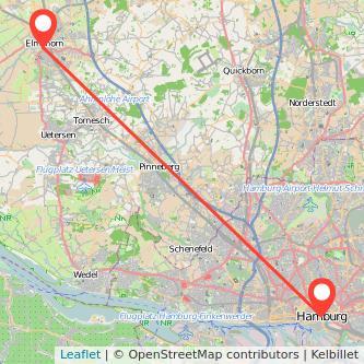 Elmshorn Hamburg Bahn Karte