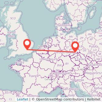 Dresden London Mitfahrgelegenheit Karte
