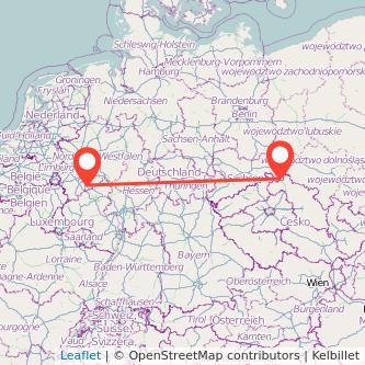 Bonn Zittau Mitfahrgelegenheit Karte