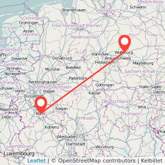 Bonn Wolfsburg Bahn Karte