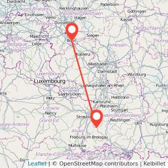 Bonn Hausach Bahn Karte